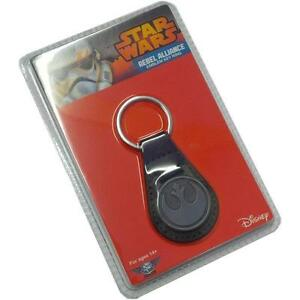Porte-cles-officiel-Star-wars-metal-symbole-Alliance-rebelle-Star-wars-keychain