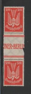 71640-GERMANY-MiNr-263-ZS-AIRMAIL-GUTTER-PAIR-MINT-NEVER-HINGED