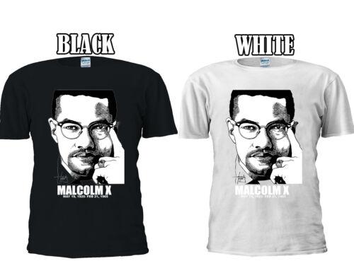 Malcolm X Shabazz Muslim Anti-Racism T-shirt Vest Tank Top Men Women Unisex 296