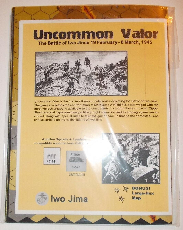 Historical ASL Uncommon Valor (Iwo Jima large hex edition)
