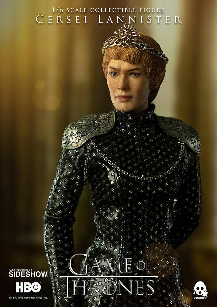 1 6 Scale Game of Thrones Cersei Lannister Figure Threezero