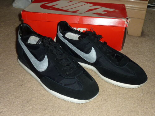 Vintage Nike 1779 1985 Oceania Size 10.5 Shoes Bla
