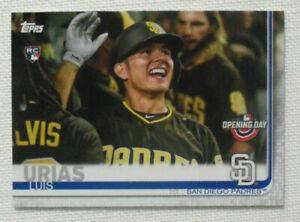 2019-Topps-Opening-Day-Photo-Variation-138-Luis-Urias-San-Diego-Padres-RC-SSP