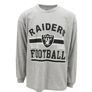 NFL-Oakland-Raiders-Official-Apparel-Kids-Youth-Size-Long-Sleeve-Shirt-New-Tags