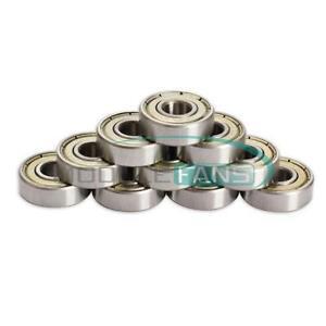 5PCS Mini Metal 5x8x2mm MR85ZZ-2 Ball bearing FOR Tamiya Kyoso Traxxs HPI MF