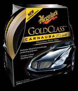 Meguiar's G7014 Gold Class Carnauba Plus Paste Wax | 311 g Paste | Autowachs