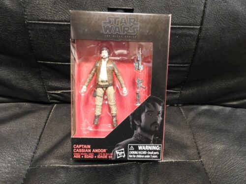 Cassian Andor Star Wars The Black Series 3 3//4-Inch Action Figures Wave 4