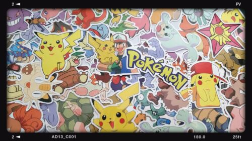 20 piece Pokemon Sticker