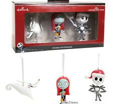Hallmark Nightmare Before Christmas Ornaments.Disney Hallmark Nightmare Before Christmas Ornament Set Jack Sally Zero