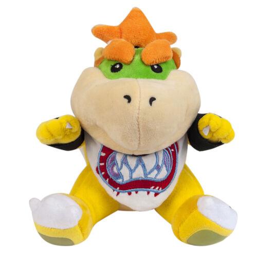 Jr Bowser Koopa Soft Plush Doll 7in Super Mario Bros Christmas Gift