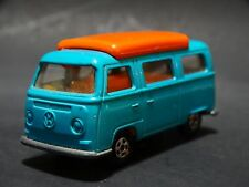 Vintage Matchbox Lesney VW Volkswagen Camper Van Collector No. 23 1970 Superfast
