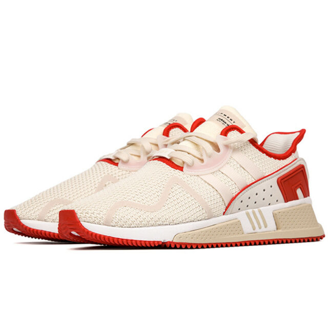online retailer 21c7b f08ec NEW Adidas Originals EQT Cushion ADV Men's Shoes Off White Scarlet Red  B22688