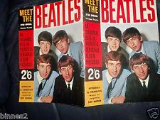"ORIGINAL-1963- ""MEET THE BEATLES"" STAR SPECIAL Tony Barrow  Near Mint CONDITION"