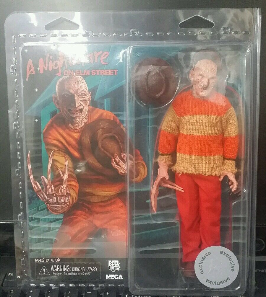 Neca Reel Jouets rétro Nightmare on elm street Video Game Figure 1990 Frougedy