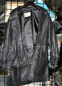 Bælte Sort Læder Co Frakke Små Kvinders Place Vintage b W Størrelse Yxnq0Xwx6g
