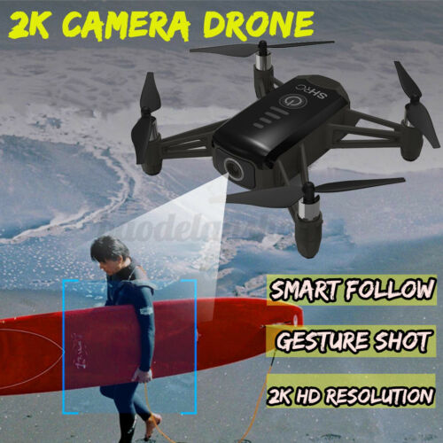 2.4G 1080P WIFI RC Drone Helicopter 2K HD Camera Follow Me Quadcopter Wide-Angle
