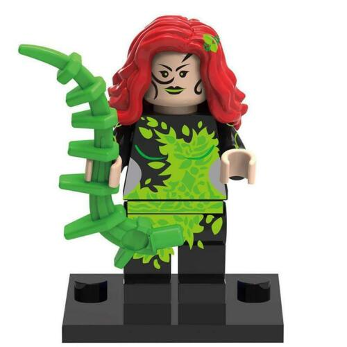 Poison Ivy Comic Book Villains Custom Mini Figures