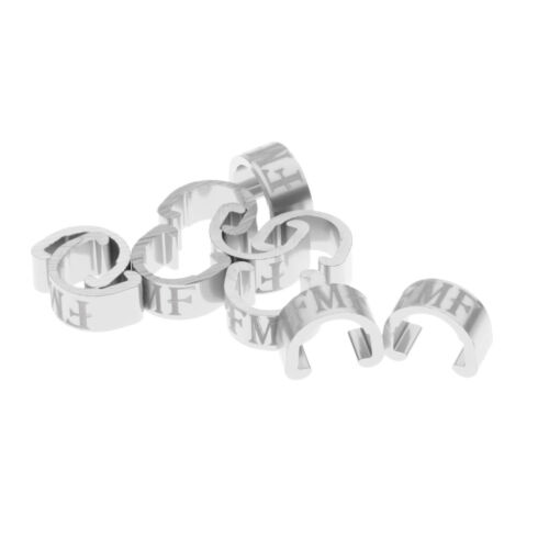 10Pcs Bicycle C-Clips Buckle Cable Guides Brake Housing Road Mountain Bike