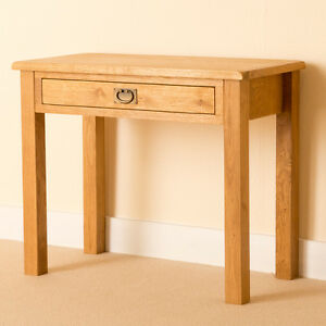 Beau Image Is Loading Lanner Oak Small One Drawer Laptop Desk Rustic