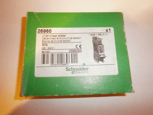 Schneider  26960 - Déclencheur à minimum de tension