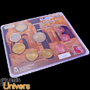 SÉRIE EURO BRILLANT UNIVERSEL (BU) - ESPAGNE 2010 WORLD MONEY FAIR
