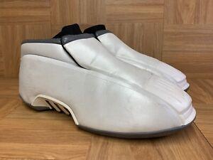 VNTG-Adidas-The-Kobe-2-Original-Metallic-Pearl-Black-Sz-10-5-Men-039-s-Basketball