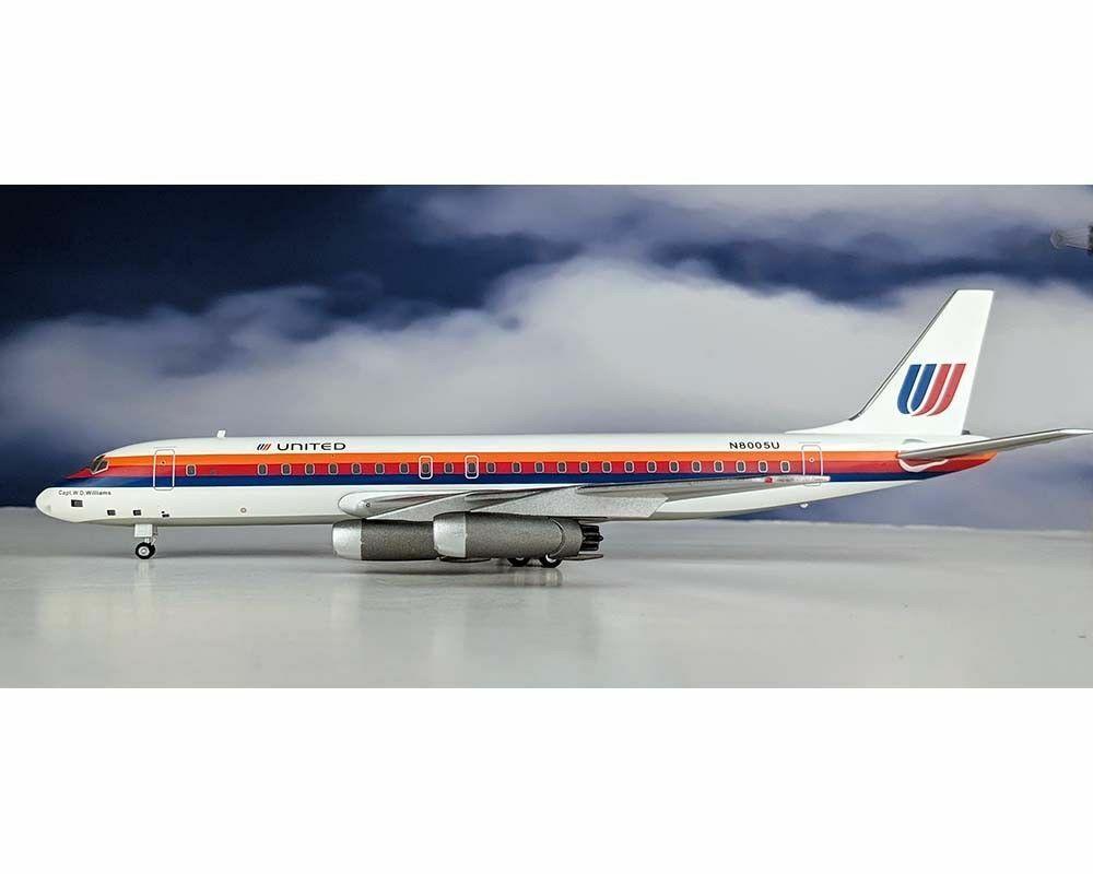 Aeroclassics United Airlines DC-8-21 N8005U AC219375 escala 1 200