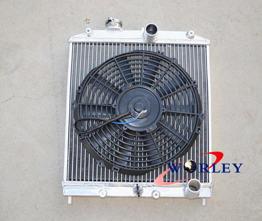 3-ROW Aluminum Radiator & Fan For 92-00 HONDA CIVIC EG EK