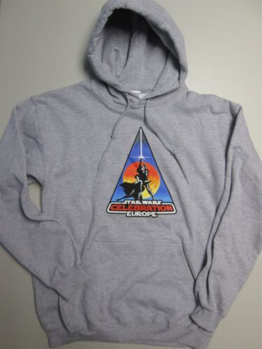 STAR WARS CONVENTION GREY MENS HOODY S NEW Sweater//Top//Jumper//Sweatshirt SMALL