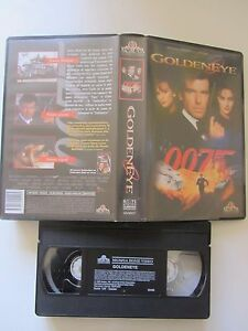 James Bond: Goldeneye de Martin Campbell avec Pierce Brosnan, VHS, Action