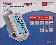 Neuheit: aponorm Oberarm Professional TOUCH Blutdruck-Messgerät - PZN 12393720