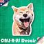 Scooby Doo Pet Dog Sketch Luggage Car Skateboard Guitar Fridge Sticker Laptop