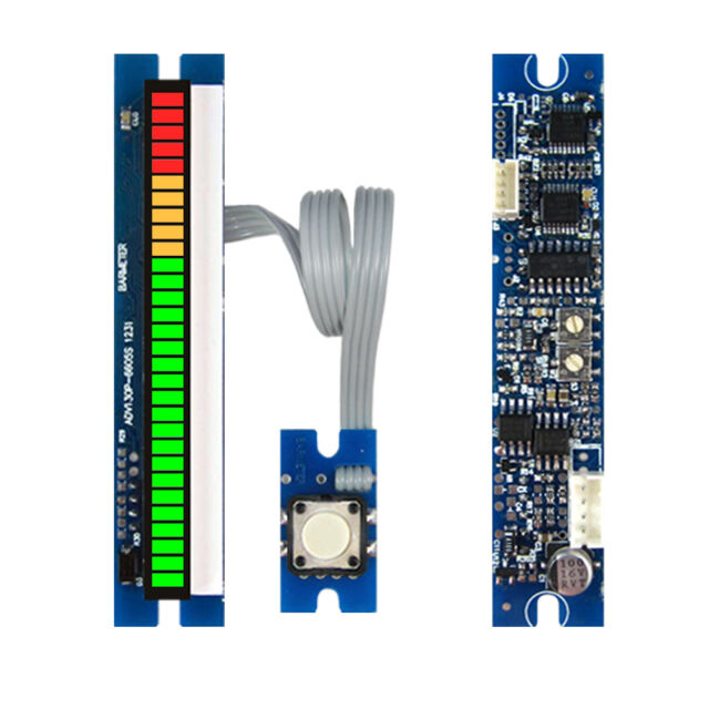 30seg 66mm  LED VU meter module with peak hold audio level display
