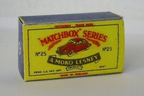 Repro Box Matchbox 1:75 Nr.25 Volkswagen Sedan älter
