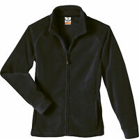 Colorado Clothing Co. Bear Creek Fleece Jacket Women's Black Zip Up M-l Tech