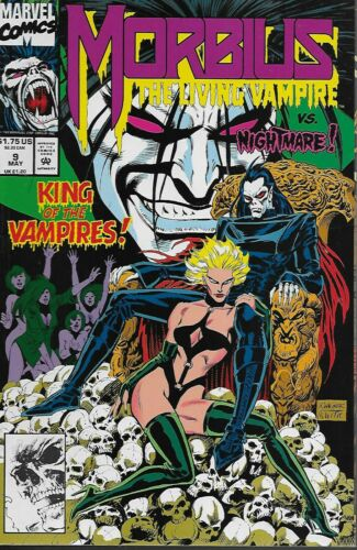 Morbius The Living Vampire No.9 1993 Gregory Wright /& Ron Wagner
