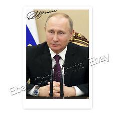 Wladimir Wladimirowitsch Putin / Vladimir Vladimirovič - Autogrammfoto laminiert