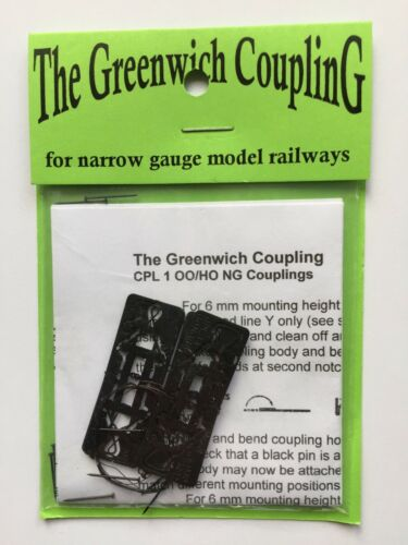 CPL1 for fx OO9 H0e Greenwich couplings 10