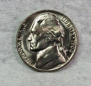 1966-Jefferson-Nickel-BU-Sharp-Uncirculated-Fresh-From-Bank-Rolls