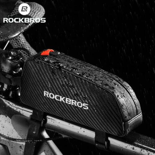 ROCKBROS Bicycle Frame Bag Waterproof Triangle Bag Front Frame Top Tube Bag