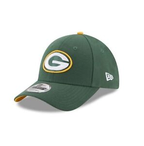8b643a9fc5fc3 New Era 9FORTY NFL Green Bay Packers Green The League Curved Peak ...