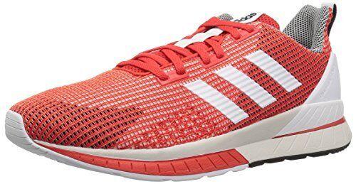 Adidas uomini questar e scarpe da corsa, nucleo rosso, bianco, ftwr, rosso ftwr, bianco, solare, 10 milioni di noi b5bd2d