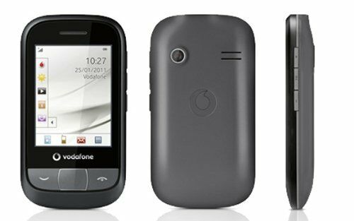 1 of 1 - Vodafone 455 - Graphite Grey (Vodafone) Mobile Phone Smart Phone Touch Screen