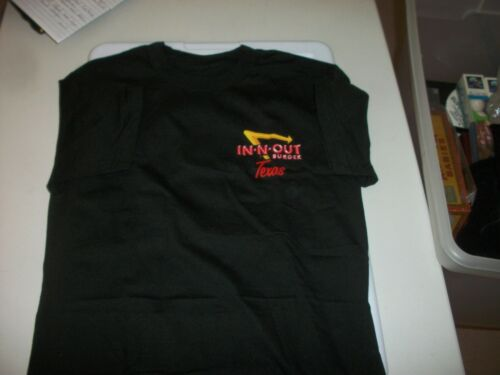 IN-N-OUT BURGER T-SHIRT TEXAS SMALL NEW