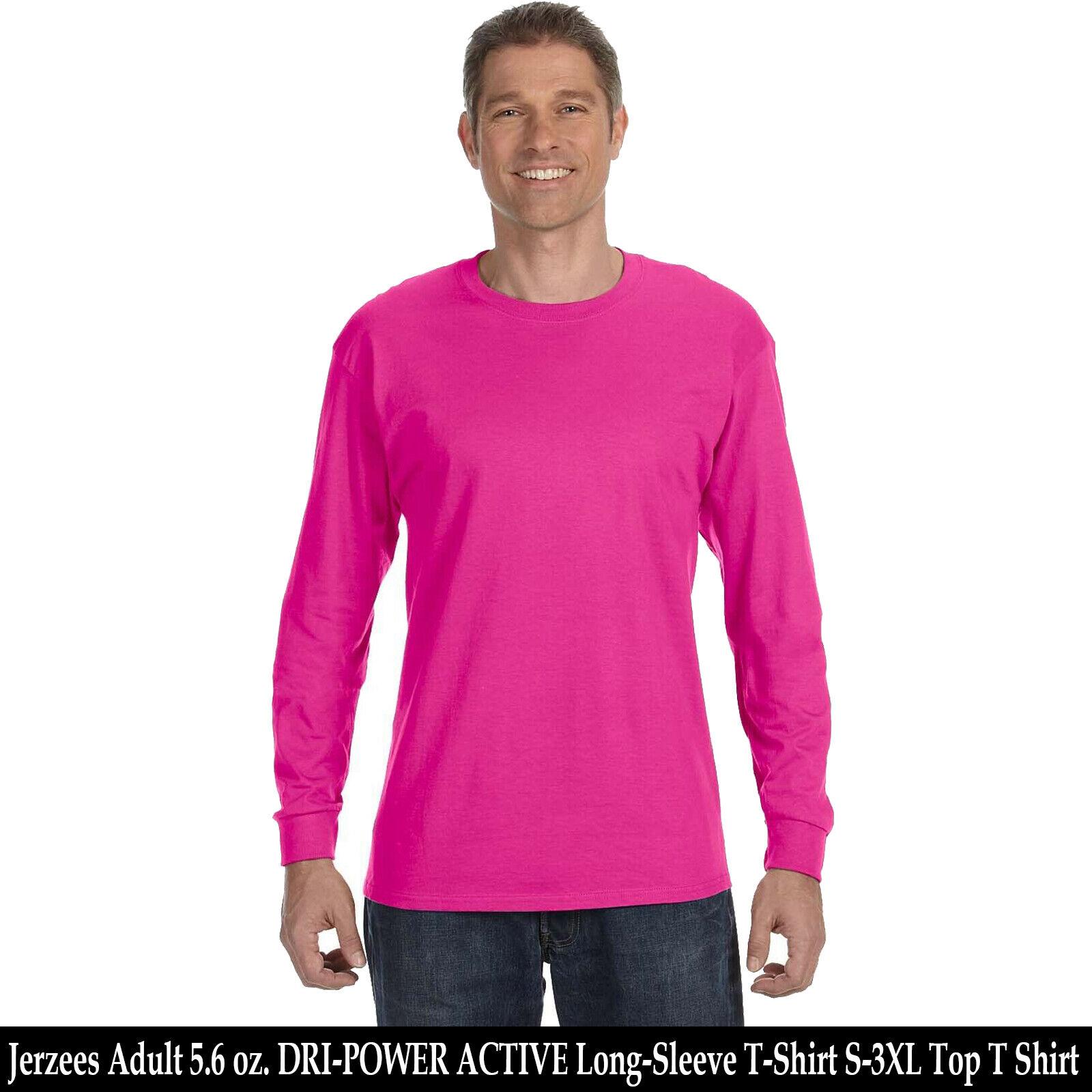KELLY Jerzees Heavyweight Blend Crewneck Long-Sleeve T-Shirt