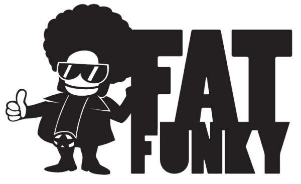 15x9cm Fat Funky Shaped Vinyl Sticker Car Laptop Funk Funkadelic Parliament Cool Aromatische Smaak