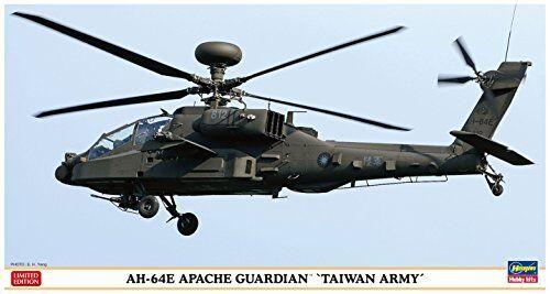 Hasegawa 1 48 Ah-64e Apache Guardián Taiwan Ejército Kit de Modelismo Nuevo