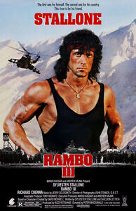 Rambo-lll-11-034-x-17-034-Movie-Collector-039-s-Poster-Print-T2-B2G1F