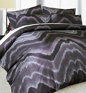 Soft-Feel-Midnight-Black-Quilt-Doona-Duvet-Cover-Set-SINGLE-DOUBLE-QUEEN-KING