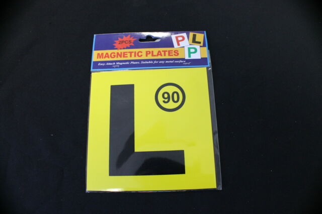 2pc Magnetic Learner L Plates NSW L Plate FOR New South Wales